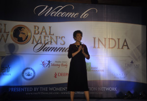 Paula Fellingham Global Women's Summit India