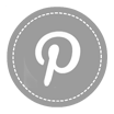Pinterest Icon - New Gray