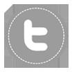 Twitter Icon -  new Gray