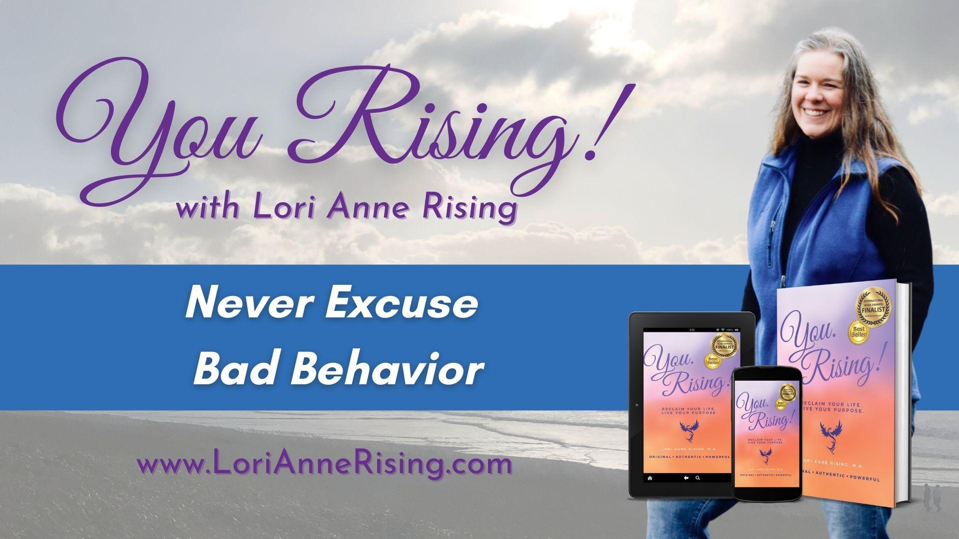 CoverExcusing Bad Behavior