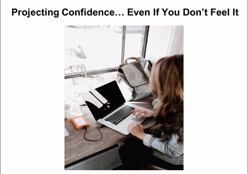 CoverProjectingConfidence_Gina Longo