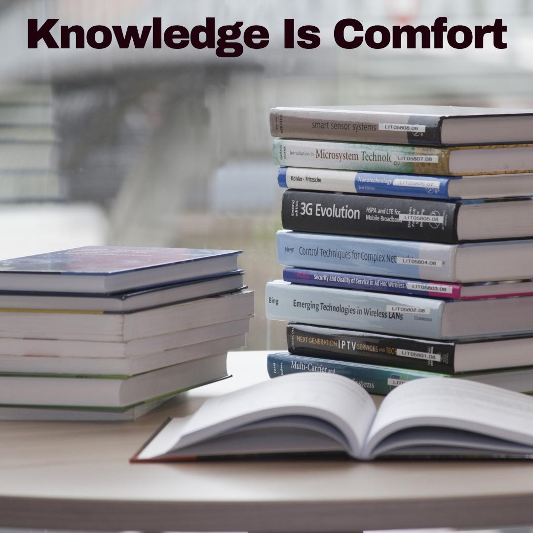 CoverKnowledgeIsComfort