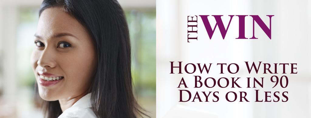 How to write a book banner