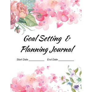 Goal_Planning_Journal_Floral - Heidi Richards Mooney-cover
