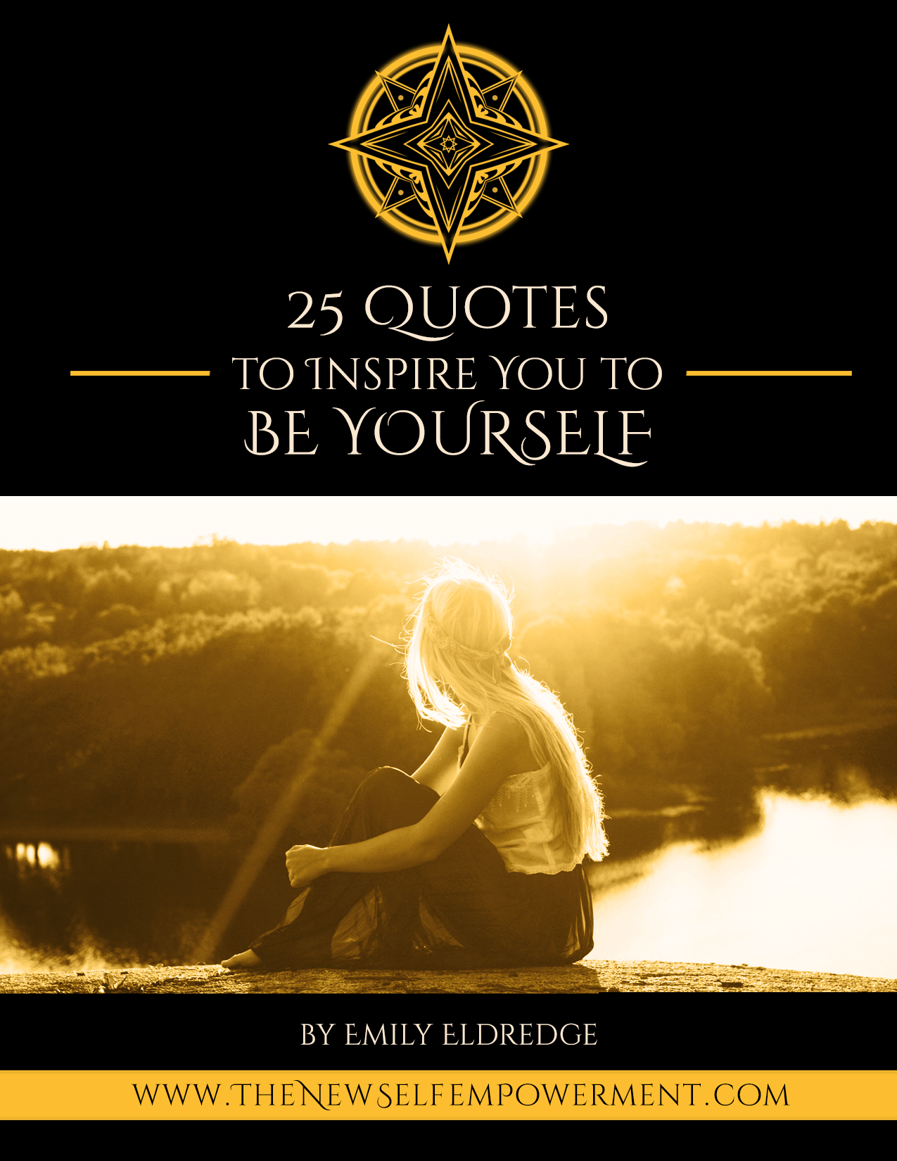 25 QUOTES BOOK - BE YOURSELF Cover