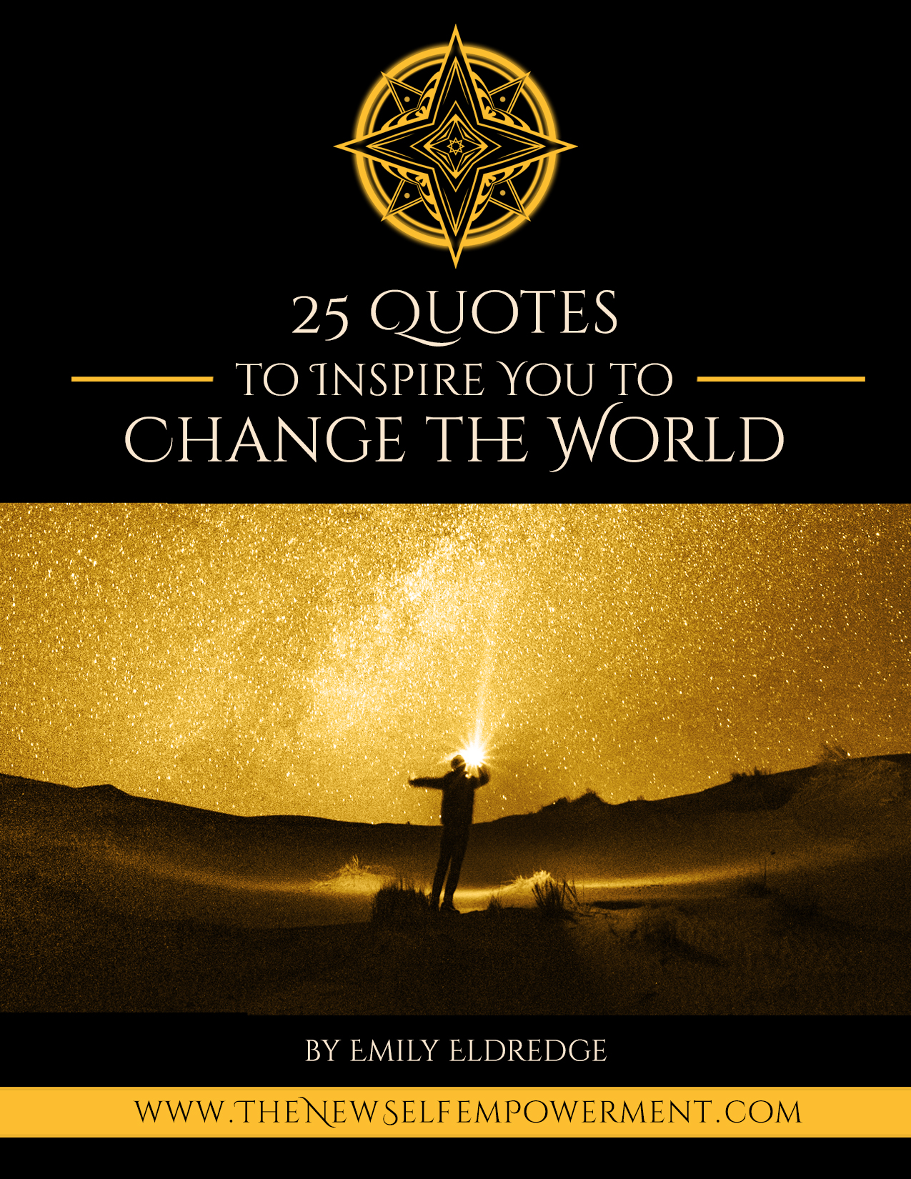 25 QUOTES BOOK - CHANGE THE WORLD Cover