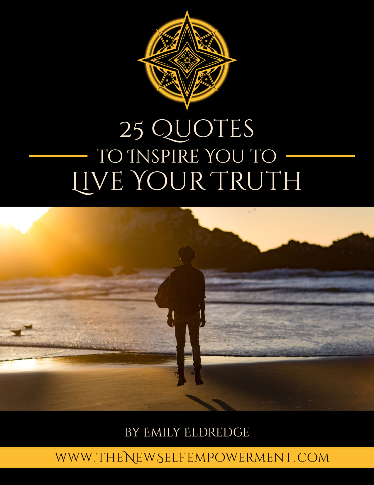 25 QUOTES BOOK - LIVE YOUR TRUTH Cover