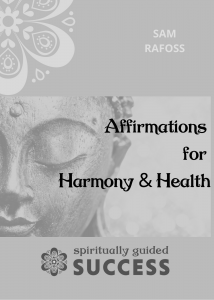 SGS Affirmations for Harmony and Health